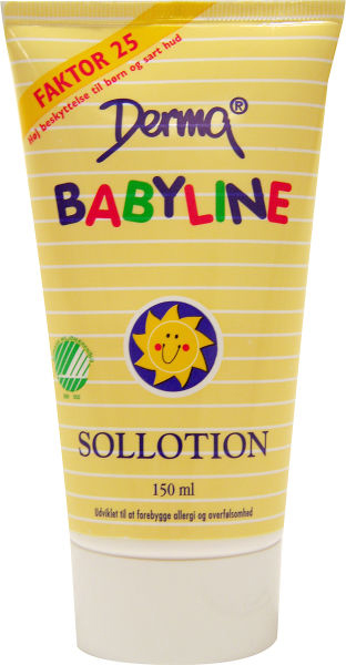 Hudlotion Babyline sollotion spf30 150ml