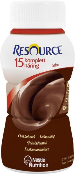 Drikk Resource Kompl Næring 1,5 TEHO sjoko 200ml
