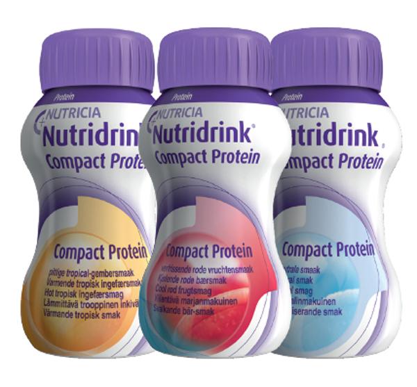 Drikk Nutridrink Compact Prot Varm Trop Ing 125ml