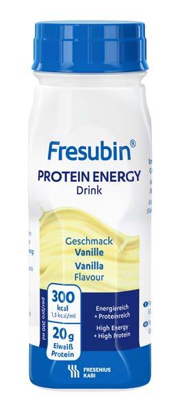 Drikk Fresubin prot energy Drink vanilje 200ml 4pk