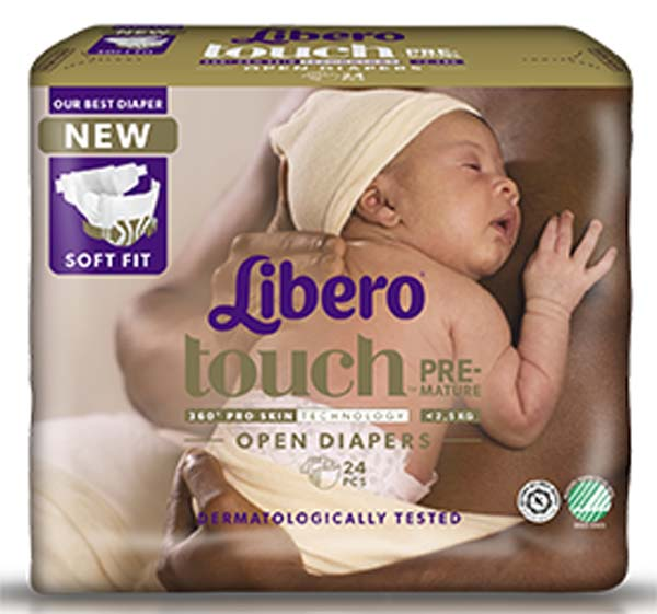 Bleie barn Libero Premature <2,5kg 24pk