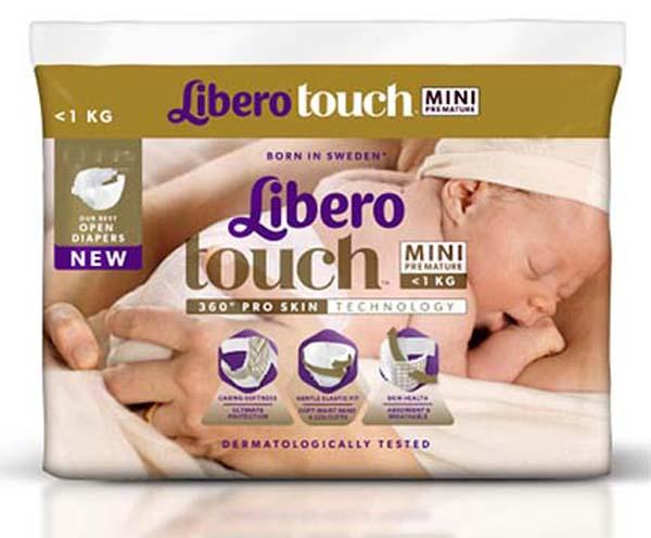 Bleie Barn Libero Touch Mini Premature <1kg 24pk