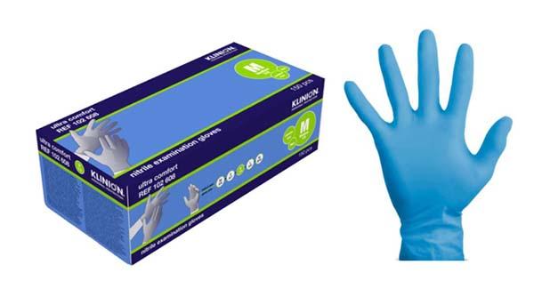 Hanske nitril Klinion Ultra Comfort kort M