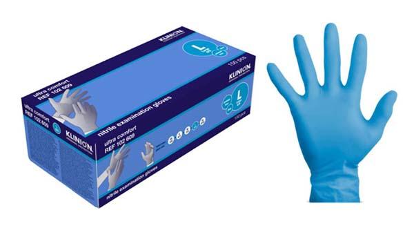 Hanske nitril Klinion Ultra Comfort kort L