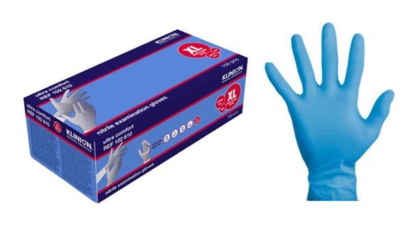 Hanske nitril Klinion Ultra Comfort kort XL