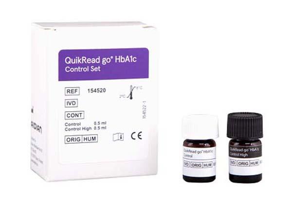 QuikRead GO HbA1c  control set