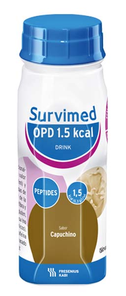 Drikk Survimed OPD 1,5 kcal DRINK cappucino 200ml