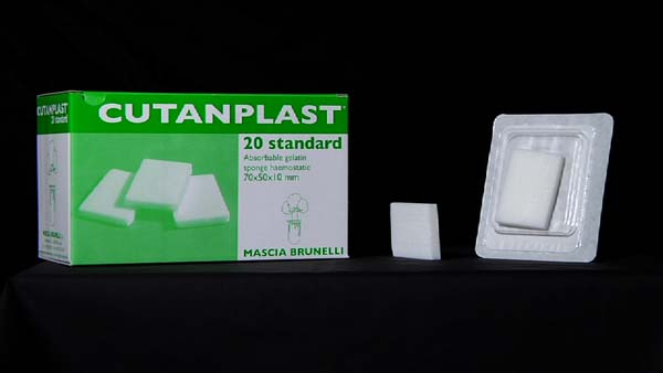 Hemostatikum Cutanplast standard 7x5x1cm