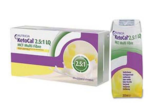 Tilskudd Ketocal 2,5:1 LQ MCT Multi Fib 200ml 32pk