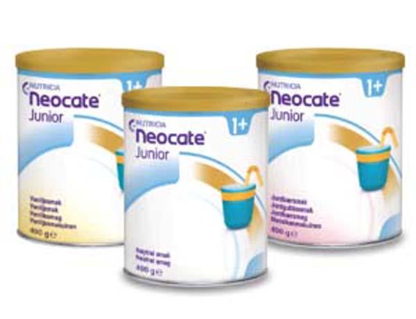 Tilskudd Neocate Junior vanilje 400g