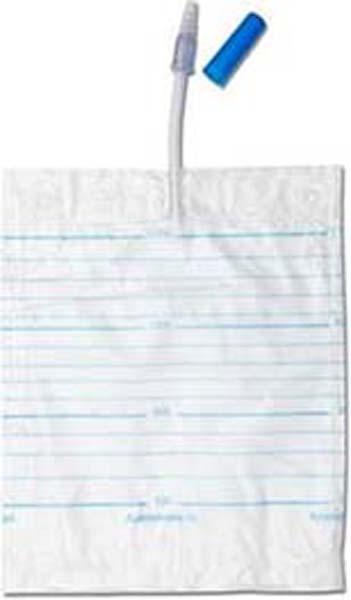 Urinpose Curibag hvit 1,5l slange 10cm 25pk