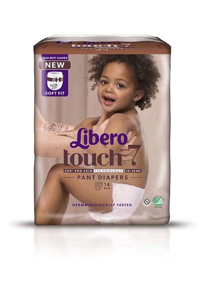 Bleie barn Libero touch 7 ABC class 16-26kg 14pk