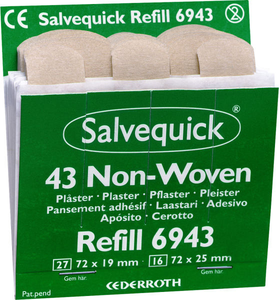 Plaster Salvequick nw refill 43strips