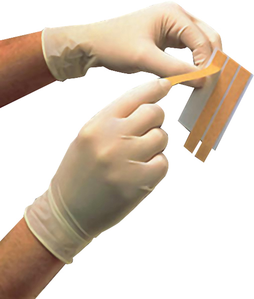Suturtape Steri-Strip elastisk 6mmx38mm 50x6strips