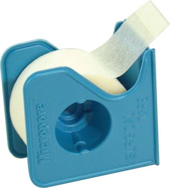 Tape kirurgisk Micropore m/disp 2,5cmx9,1m hvit