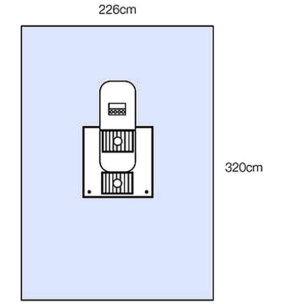 Oppdekning Steri-Drape 1194 artroskop