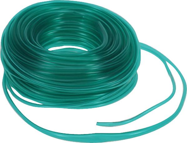 Bobleslange oksygen 3mm grønn 30m