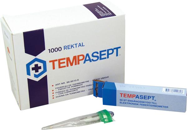 Termometerbeskyttelse Tempasept m/salve grønn