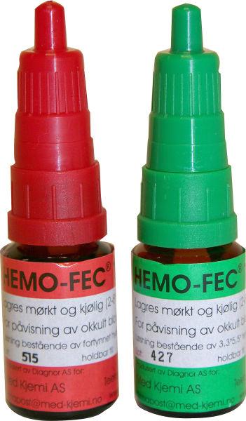 Hemo-Fec A+B MK101200 prøver