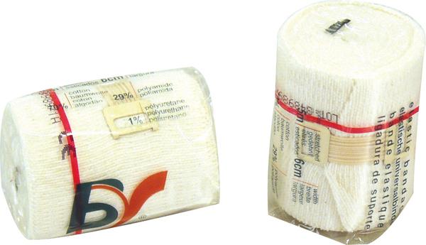 Universalbind elastisk BV 12cmx5m hvit