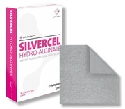 SILVERCEL HYDROALGINAT 5X5CM SILVER STERIL