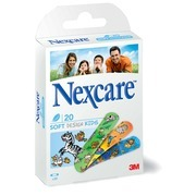 PLÅSTER NEXCARE SOFT KIDS 19X72MM NON-WOVEN