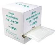 KOMPRESS NONW 4L YIBON 10X10CM STERIL 5-PACK