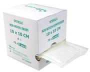 KOMPRESS NONW 4L YIBON  7,5X7,5CM STERIL 2-PACK