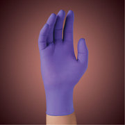 HANDSKE UNDERSÖK SAFESKIN MEDIUM PURPLE NITRILE STERIL PUDERFRI PAR