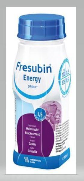 FRESUBIN ENERGY DRINK SVARTVINBÄR 200ML Vnr 210374