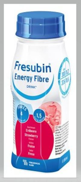 FRESUBIN ENERGY FIBRE DRINK JORD GUBB 200ML Vnr 210368