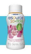 RESOURCE 2.0+FIBRE  JORDGUBB 200ML Vnr 204557