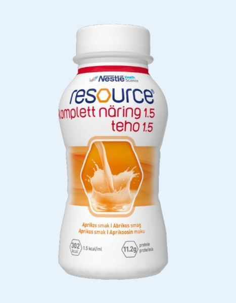 RESOURCE KOMPLETT NÄRING  APRIKOS 200ML Vnr 210426