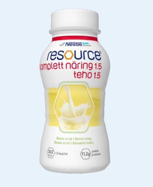 RESOURCE KOMPLETT NÄRING BANAN 200ML Vnr 210423