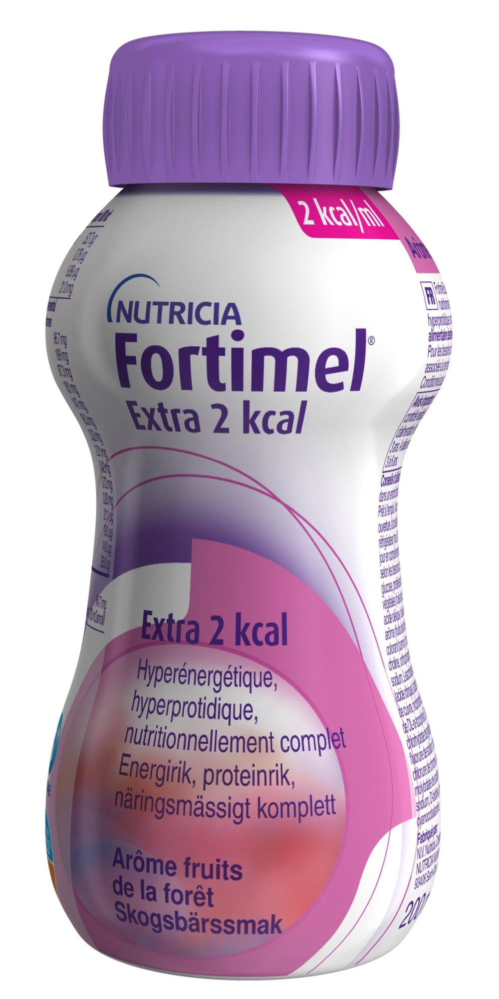 FORTIMEL EXTRA 2KCAL SKOGSBÄR 200ML Vnr 900509