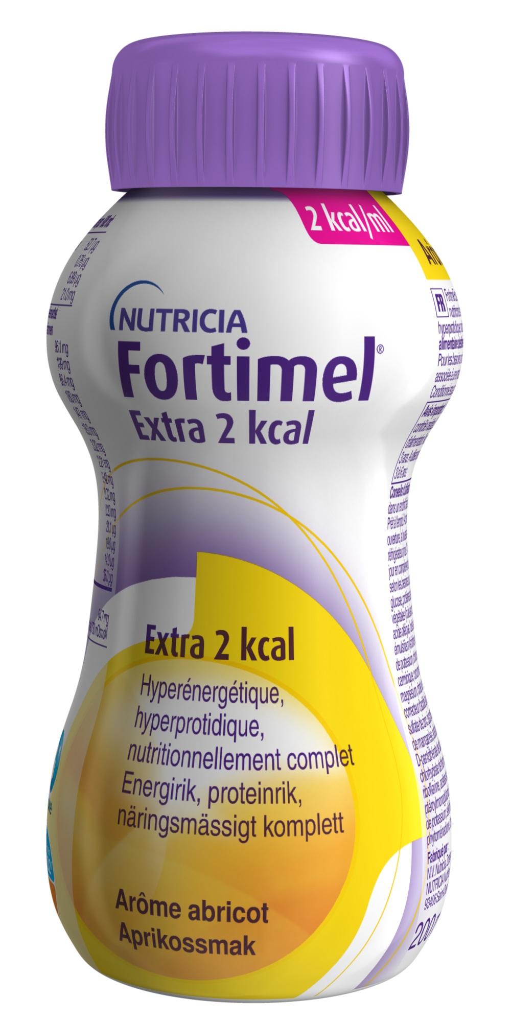 FORTIMEL EXTRA 2KCAL APRIKOS 200ML Vnr 900511