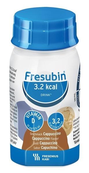 FRESUBIN 3.2 KCAL DRINK CAPUCCINO 125ML VNR 842037