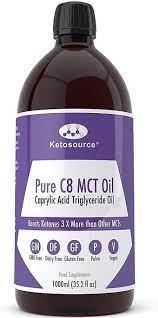 KETO PURE C8 MCT OIL 1000ML Vnr 173001-1