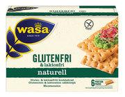WASA GLUTEN&LAKTOSFRI KNÄCKEBRÖD NATURELL 240G Vnr 691144