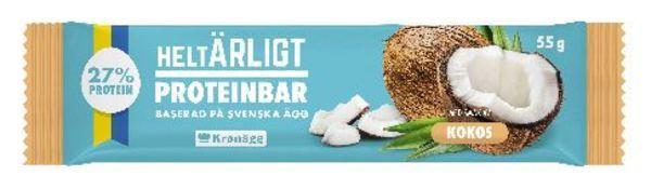 HELTÄRLIGT PROTEINBAR KOKOS 55G