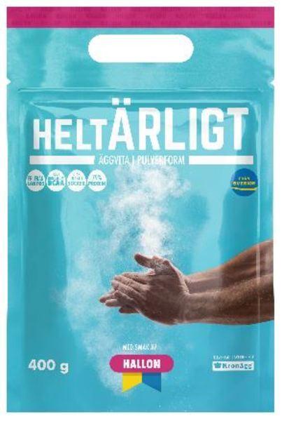 HELTÄRLIGT ÄGGVITEPULVER HALLON 400G