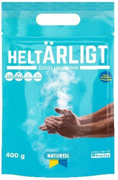 HELTÄRLIGT ÄGGVITEPULVER NATURELL 400G