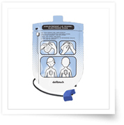 DEFF ELEKTROD LIFELINE AED PED PASSAR TILL 4564401