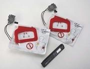 DEFIBRILLERINGSELEKTROD VUXEN T LIFEPAK CR+ AED DUBBELPAR