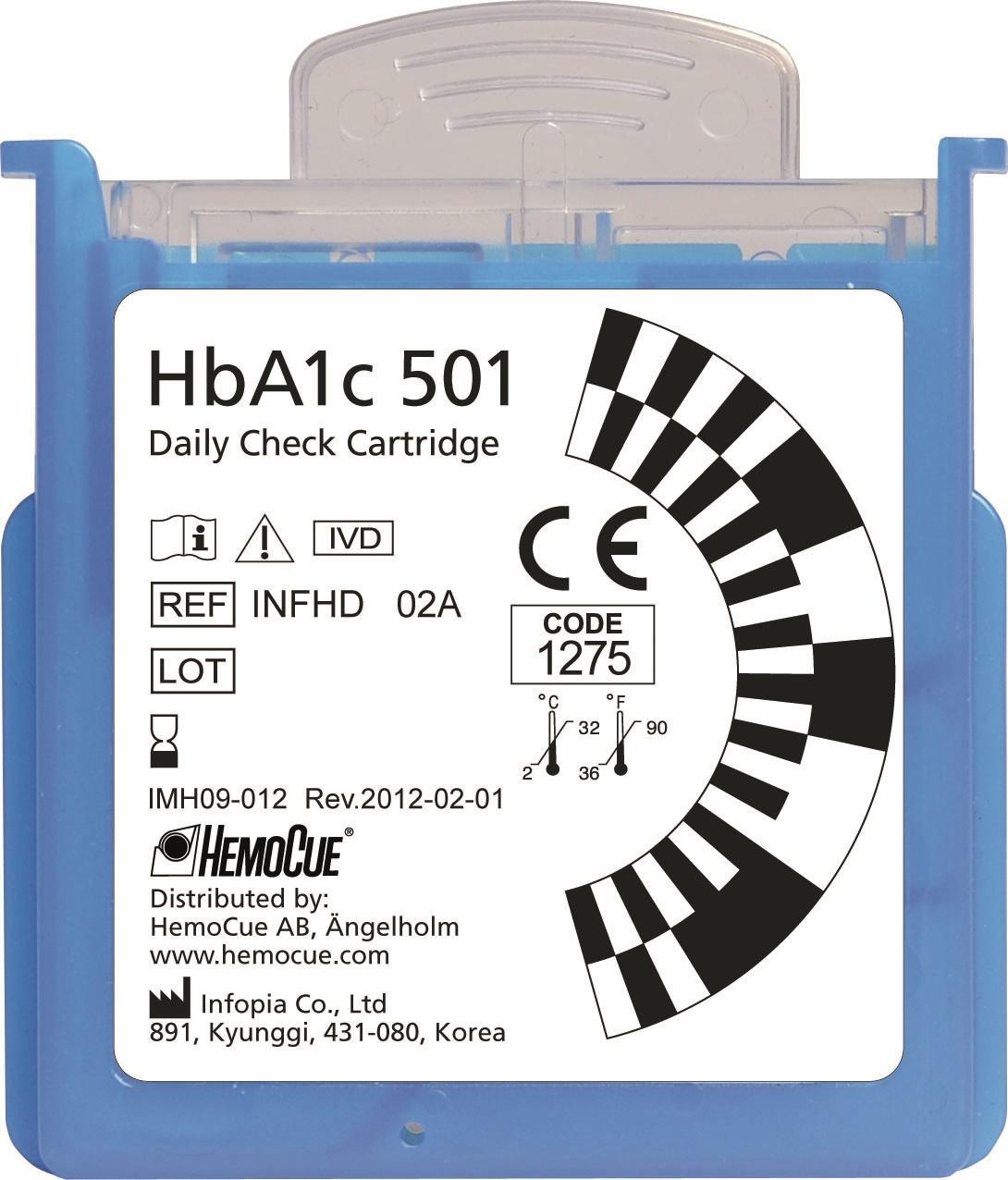 HBA1C 501 DAGLIG KONTROLL 1 ST