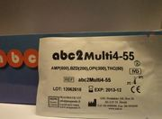 DROGTEST ABC MULTI4-55 4 PARAMETRAR AMP BZD OPI THC