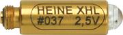 RESERVLAMPA HEINE XHL #037 2,5V PASSAR TILL OTOSKOP SPATELHÅLLARE