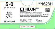 SUTUR ETHILON 5-0 FS-3 16MM STERIL 45CM SVART 3/8 CIRK OMV SKÄR