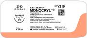 SUTUR MONOCRYL 3-0 SH-1 22MM STERIL 70CM LILA 1/2 CIRK TP