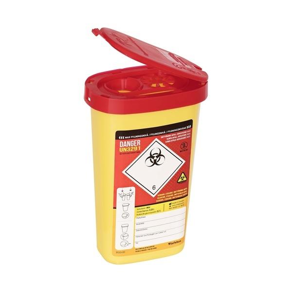 KANYLBURK SAFEBOX 0,25L PLAST UN-ETIKETT